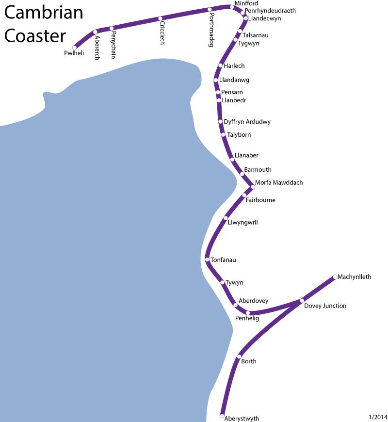 Cambrian Coaster Ranger
