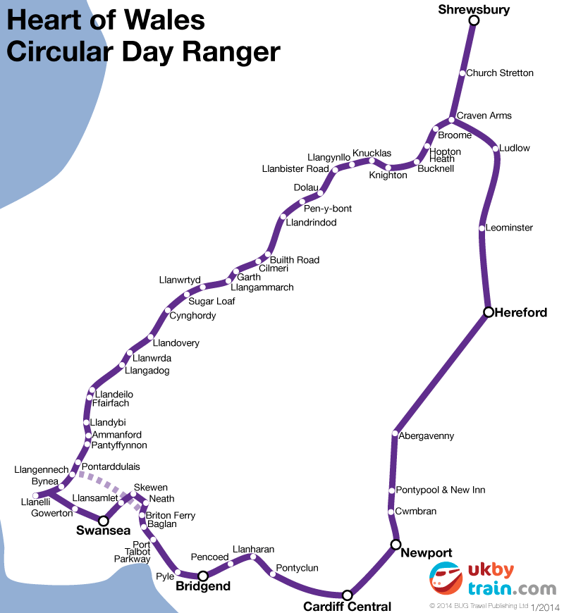 Heart of Wales Circular Day Ranger