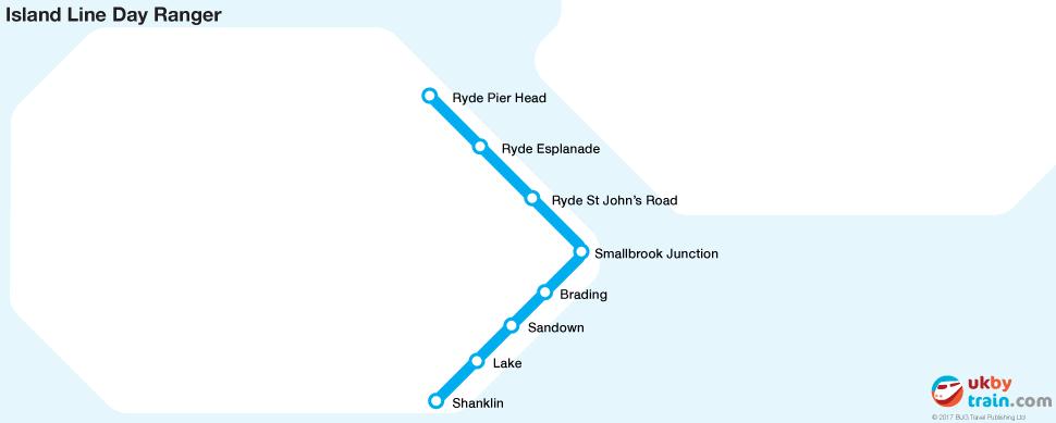 Island Line Day Ranger rail pass