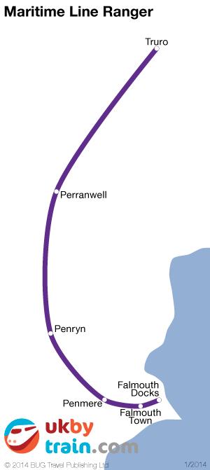 Maritime Line Ranger rail pass