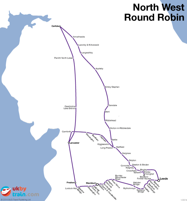 North West Round Robin rail pass