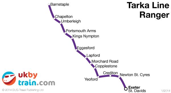 Tarka Line Ranger rail pass